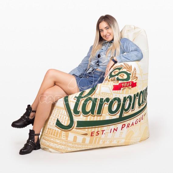 Fotoliu Full Print Staropramen