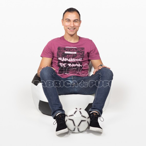 Fotoliu puf minge fotbal L