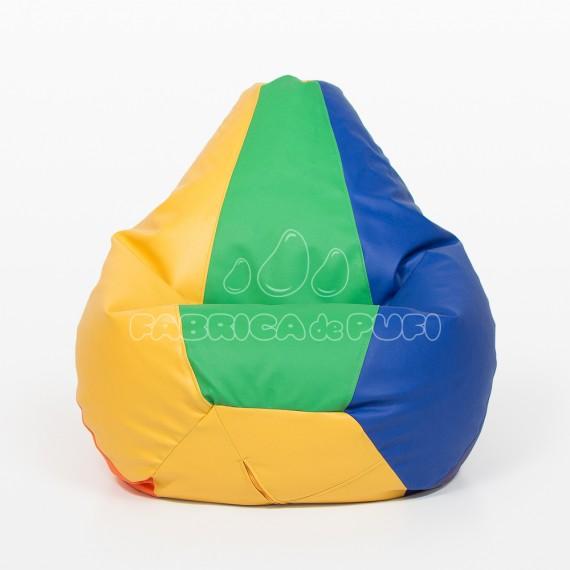 Fotoliu puf Para XL multicolor