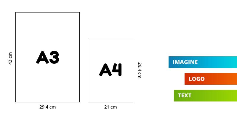 Personalizare pufi A3-A4